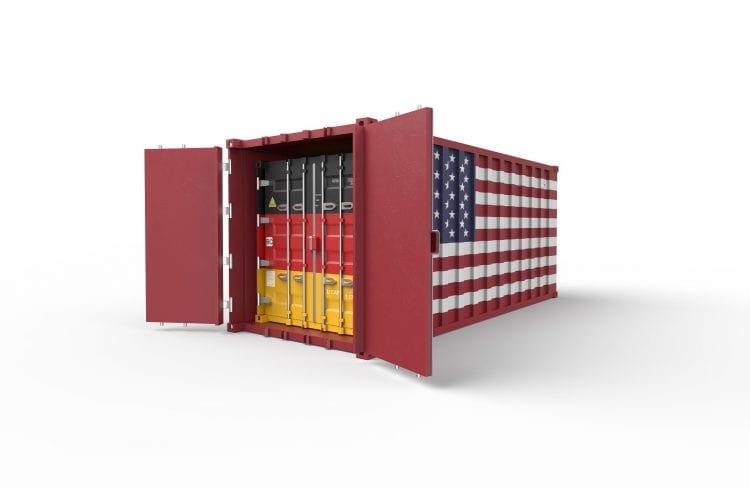 importação dos Estados Unidos